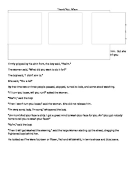 Reading Comprehension Strategies Assessment with story