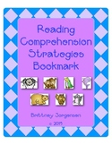 Reading Comprehension Strategies Bookmark