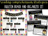Reading Comprehension Strategies Bulletin Board and Organizer Set
