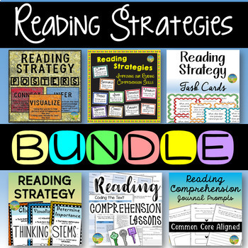 Reading Comprehension Strategies Bundle!