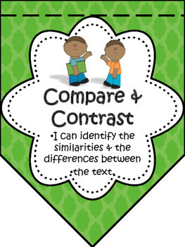Reading Comprehension Strategies Bunting and Activities for Big Kids