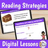 Reading Comprehension Strategies Digital Lessons Bundle
