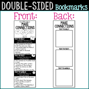 Reading Comprehension Strategies Bookmarks | Reading Strategies Bookmarks
