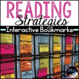 Reading Strategies Bookmarks for Reading Response, Comprehension Activities