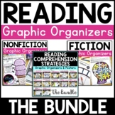 Reading Comprehension Graphic Organizers - Strategies, Fiction & Nonfiction