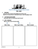 Reading Comprehension Strategies Graphic Organizers