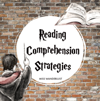Reading Comprehension Strategies Posters - Harry Potter Themed