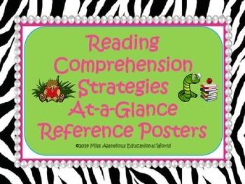 Reading Comprehension Strategies Mini-Posters