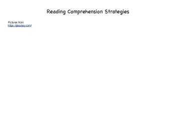 Reading Comprehension Strategies Organizer