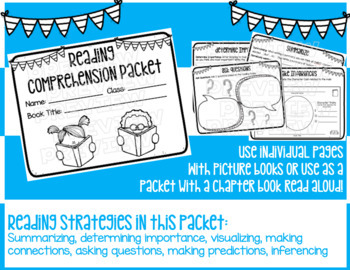 Reading Comprehension Strategies Packet