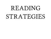 Reading Comprehension Strategies Posters (Common Core Aligned)
