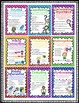Reading Comprehension Strategy Posters 2nd 3rd 4th 5th Grade Style 4