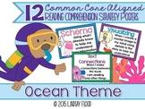Reading Comprehension Strategies Posters  - Ocean