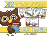 Reading Comprehension Strategies Posters  - Owl Theme