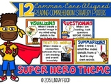 Reading Comprehension Strategies Posters  - Super Hero