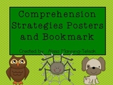 Reading Comprehension Strategies Posters and Bookmark {Beanie Babies}