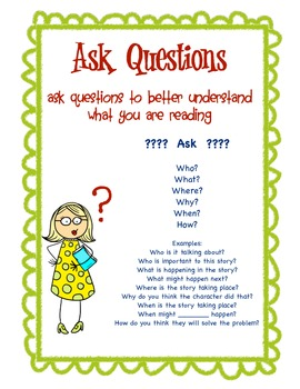 Reading Comprehension Strategies & Questions