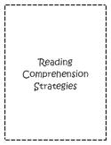 Reading Comprehension Strategies- Reflecting Sheets