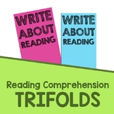 Reading Comprehension Response Sheet Trifold and Exit Slips