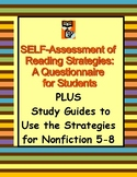 Nonfiction Reading Guides & Self-Assessment for All Subjects 5-9