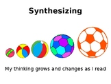 Reading Comprehension Strategies: Synthesizing
