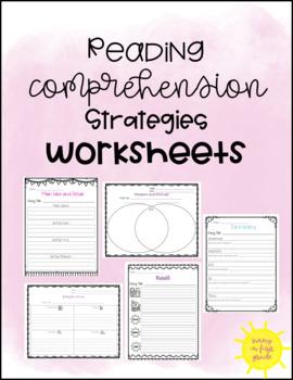 Reading Comprehension Strategies Worksheets