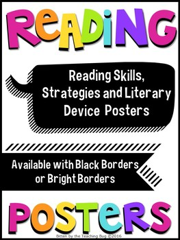 ELA Reading Strategies and Skills - Posters