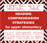 Reading Comprehension Strategies - posters, rubrics, assessments and more!