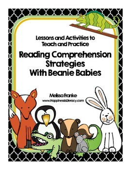 how to teach beanie baby reading strategies