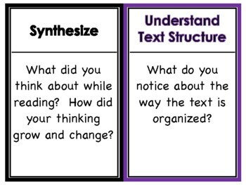 Reading Comprehension Strategy Posters / Anchor Charts