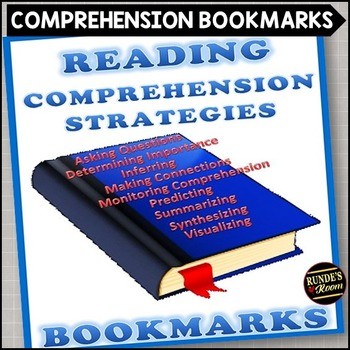 Reading Comprehension Strategy Bookmarks