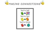 Reading Comprehension Strategy Cards (Making Connections)