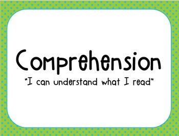Reading Comprehension Strategy Headers Add-on Pack