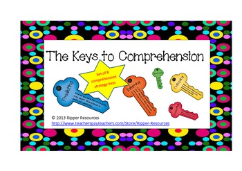 Reading Comprehension Strategy Keys