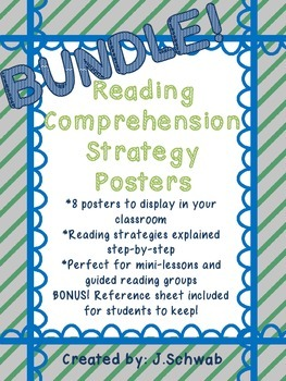 Reading Comprehension Strategy Posters Bundle