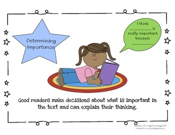 Reading Comprehension Strategy Posters- CCSS