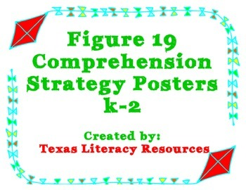 Reading Comprehension Strategy Posters K-2