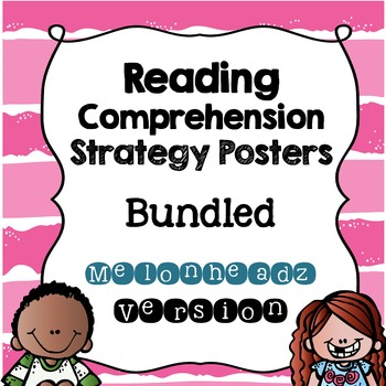 Reading Comprehension Strategy Posters {Melonheadz Version}