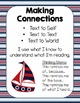 Reading Comprehension Strategy Posters- Nautical Theme