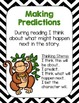 Reading Comprehension Strategy Posters- Zoo Animals