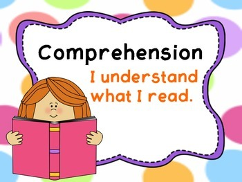 Reading Comprehension Strategy Posters with Kids