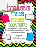 Reading Comprehension Strategy Response Bookmarks