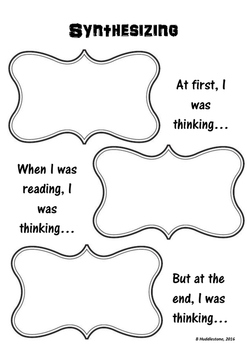 Reading Comprehension Strategy Synthesising