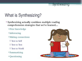 synthesizing graphic organizer
