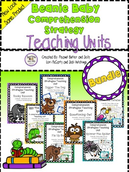 Reading Comprehension Strategy Teaching Units - *SUPER BUNDLE* - beanie baby