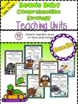 Reading Comprehension Strategy Teaching Units - *SUPER BUN