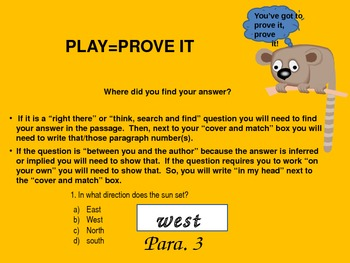 Reading Comprehension Strategy {Test Taking Skill}