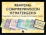Reading Comprehension Stratiegies Classroom Posters