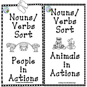 Reading Comprehension Summer Bundle:  Animals in Action and People in Action