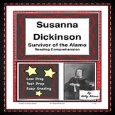 Reading Comprehension Susanna Dickinson